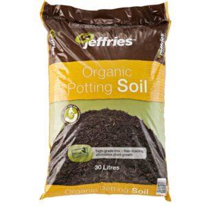 organic potting soil 30 litres