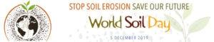 stop soil erosion world soil day banner
