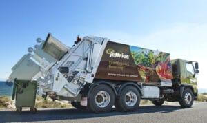 Jeffries compost truck